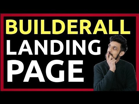 Builderall Tutorials: How to  a Landings Page