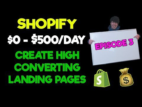 Snowdevil 0-$500/Day #3: Create High Converting Landings Pages