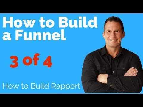 How to  a Marketeer Funnel: Rapprot ing Aweber Trained 3 of 4