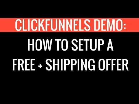 How to Set-up a  + Shipment in ClickFunnels