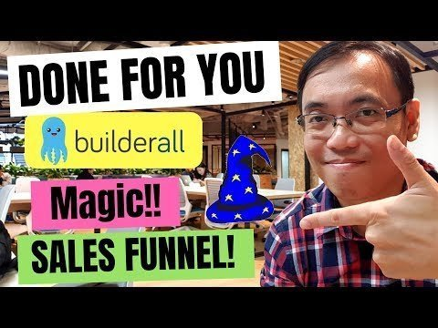 No-brand New 2018 Magikal Selling Funnel For Builderall!