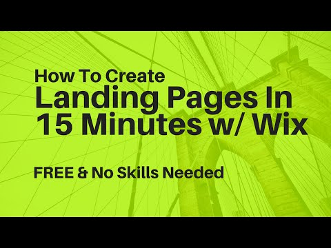 Pages In Less  15  WITH Wix  Comming