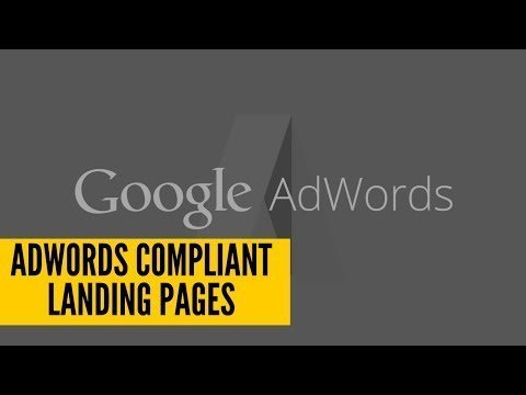 How To  An  Compliance Alighting Page