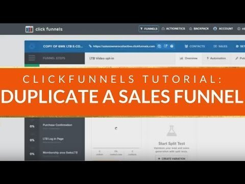 CLICKFUNNELS TUTORIAL: How to Two-foldd a Sellerman  in Spausked s