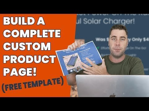 CREATE A   Alighting Pagess To  Youe I-commerce Products! (Step By Step)