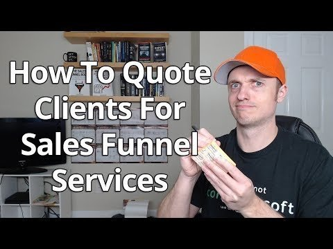 How To Mention Client For Salesman Funnels Services