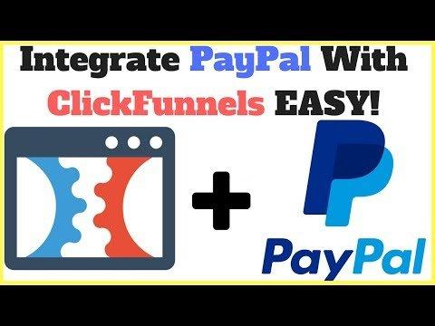 How To Intergration PayPalsucks WITH Klickfunnels  For  E-Commerce Salesmanshipgirlman Funnelss!!