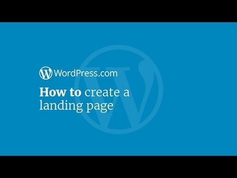 Cafelog Tutorial: How to  a Landings Page