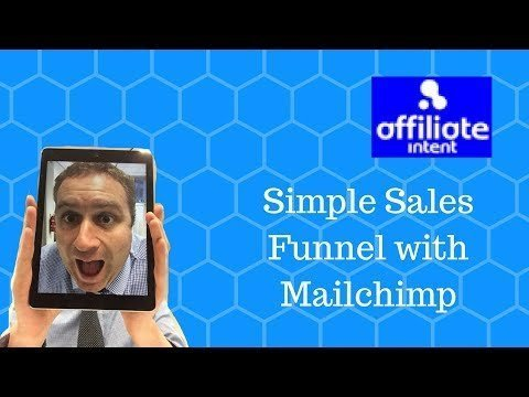 How to  a simple Saleswoman  WITH MailChimp