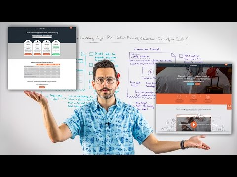 Oughta My  PaGe Be SEO-Focused, Conversion-Focused, or Both? – Whiteboards Friday