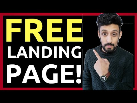 How To CREATE A Free   Alighting Page (Steps by Steps 2019)
