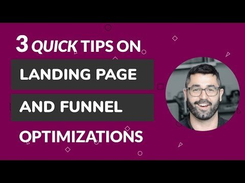Landings Page x   Hacks // Quick Marketed Tips