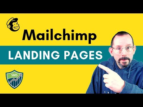 How to  Alighting  in Mailchimp With the New Alighting PaGe Creator