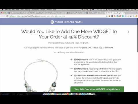 KlicksFunnels E-commerce & FREE  Shipment Funnel Template… FREE!