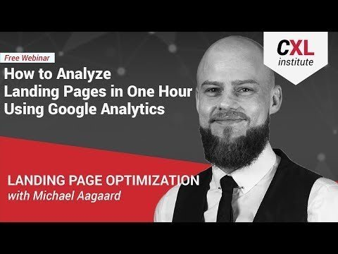 [How to increase conversion rate]  Landing Pages  GOOGLE Analytics
