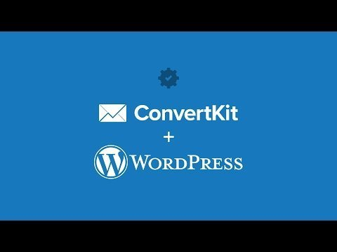 the ConvertKit WordCamp Plug-ins to add  and  pages to Your site