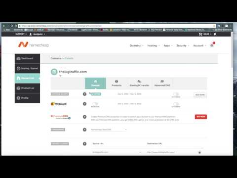 How to create a  page and use Youuns own Domains
