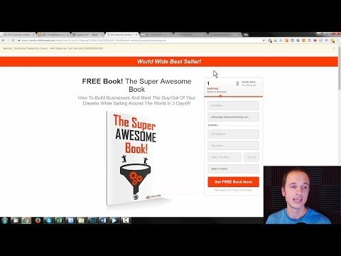 """A  """"Book"""" Salesclerk Funnel For Coaches, Consultants, Educators, and Service  (ClickFunnels)"""