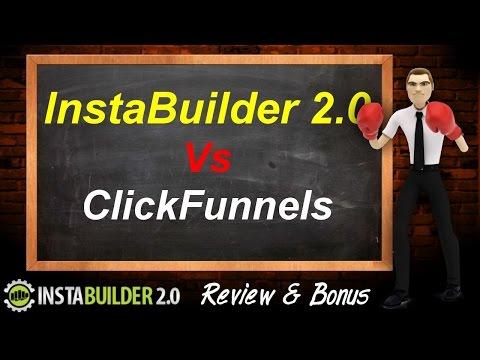 InstaBuilder 2.0 vs Clicks – Salespeoplemanshipman  Builder Compared – InstaBuilder 2.0