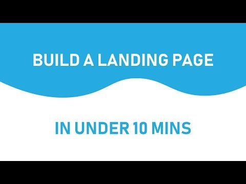 how to Build a  page in Under 10 minutes
