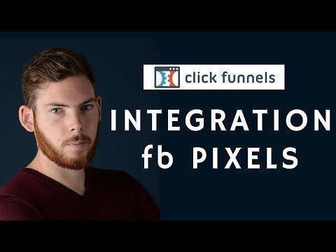 Tutoriel Clickfunnels – Remark Intégrer le Pixels FACEBOOKia