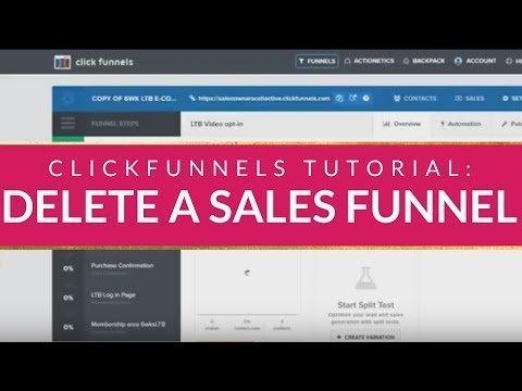 CLICKFUNNELS TUTORIAL: How to  a Salesgirlmanship  in Clicks