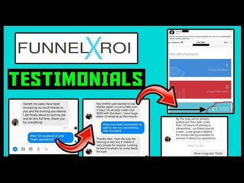 X Roi Results, Testimonials &  – BEST OnLine Business To Starting  In 2019?