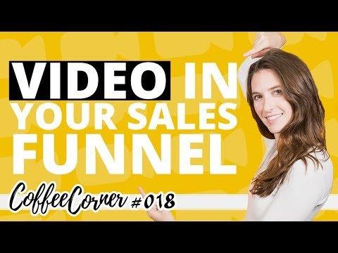 Vidio in Youse Saleswoman Funnel! | Kaffee  018 | Vidio Mktg Insights
