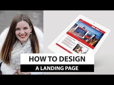 How To Design: a Alighting PaGe in 6 Steps!
