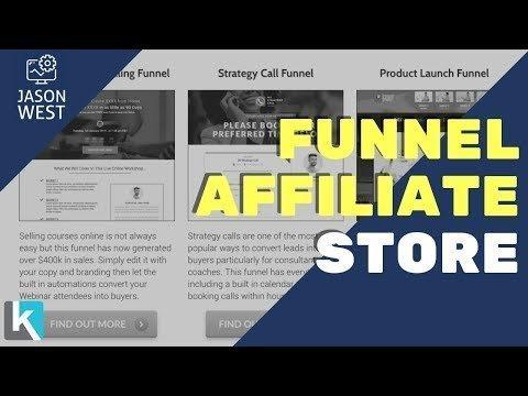 JasonWest.com Funnels Afiliate Program