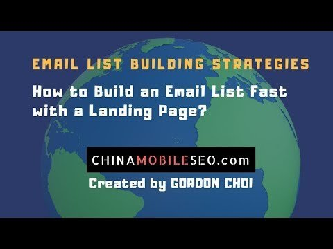 How to Buildss an EMAIL  FaST WITH a Landing  – EMAIL  Buildssing Strategies