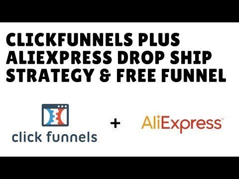 ClickFunnels E-tailing Dropshipments With AliBaba + Funnel Template