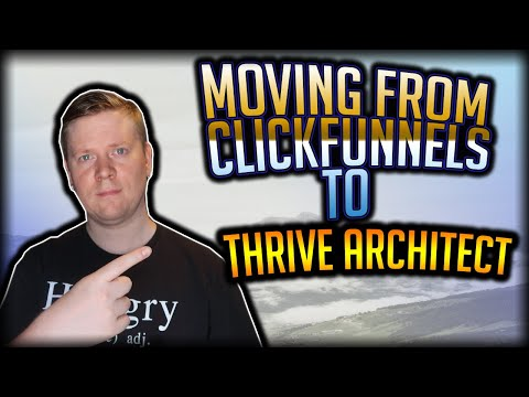 Moved a Salesmen  From Clickfunnels to  Architectsss