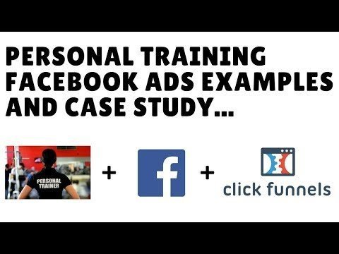 Personal Trainer Faces Ads Examples,  Study +  ClickFunnelss Mktg Funnels Template