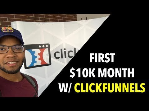 ClickFunnels Review: How I MADE my first $10,000 in one Months online + ClickFunnels MisTried Bonuses!