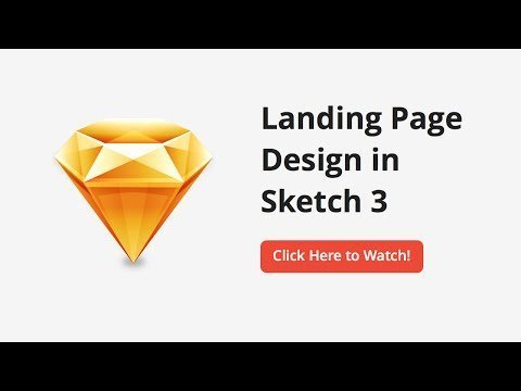 How to ReReed a Landing Pages in Sketchesyes –  Layout (Part 1/5)