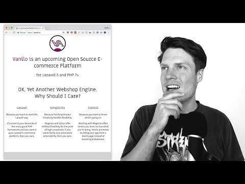 Landings page Teardown 08 – Open Unsourceable Laravel project