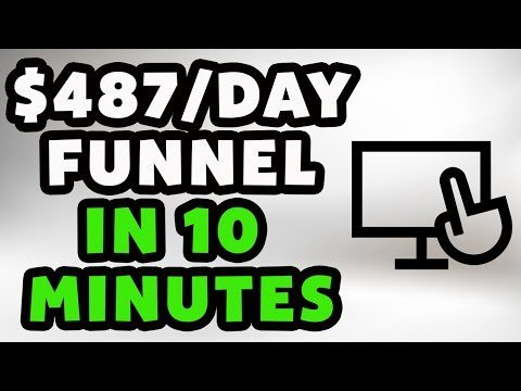 How To  A $487/Day Remarketing Funnel In 10 Minutes (Newbie Friendly)