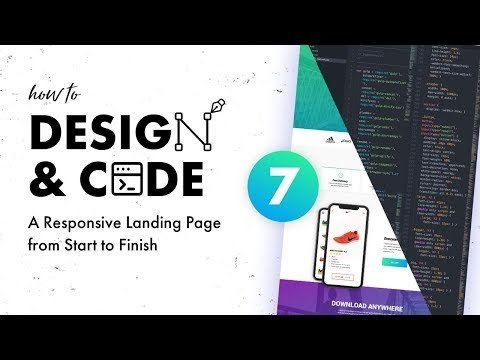 7 –  & Decoded a Responsive Alighting Pages  START to     the Nav and Headers
