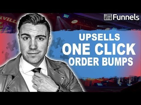 ClickingFunnels For Beginners: Making Money w/ One Clicking Upsells &  Bumps!!