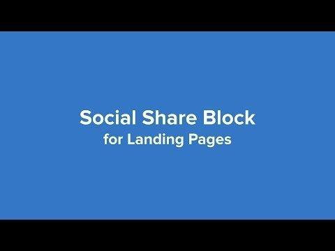 Update: Socially   for Landings  – MailerLite
