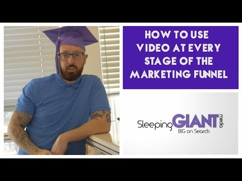 How to Use Video at  Stage of the Mktg Funnel