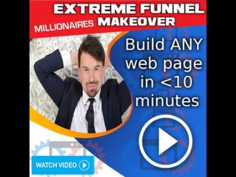 Hectomillionaire Xtreme Funnels MakeOVER!  ANY web page in  Less  10 .