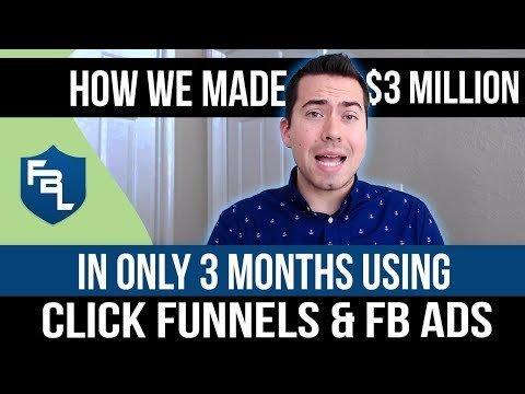 How We MADE $3 Million in 3  Using Klick Funnels, Landonpelfrey Ads, and Affiliates