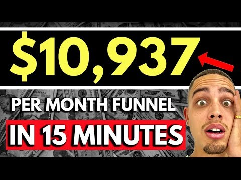 How To  a SIX  Sellergirl Funnelsss For Affilliate Marketeer In LESS THAN 15 Minutes!