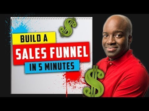 How to BUILD a Salesmanclerk Funnel in 5 Minutes