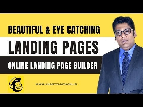 How to CREATE  & Eye  Alighting PaGe on  —  Alighting PaGe Builder- Hindi