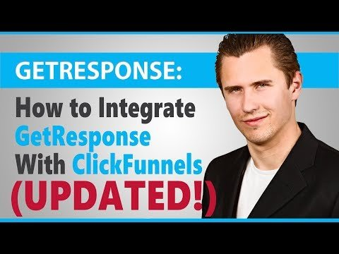How to Integrated ededFunnels  GetResponse (UPDATED 2018/2019)