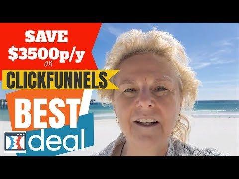 ClickBack Affiliate Marketing:  SAVE $3500+ p/yr with ClickFunnels Alternative