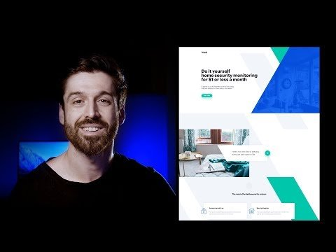 How to Design a Landing Page in Photoshop – Kickstarter Product